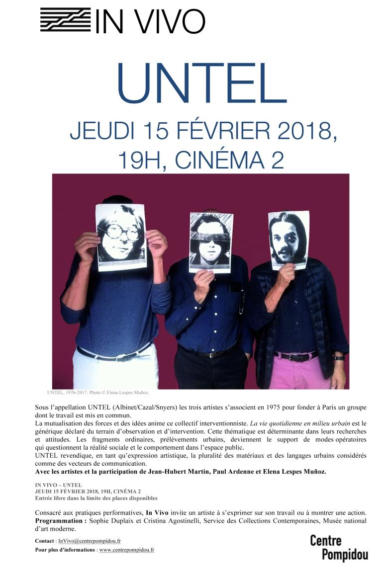 In VivoUNTEL15février2018